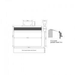 HID RP40 multiCLASS SE Kart Okuyucu - Wiegand